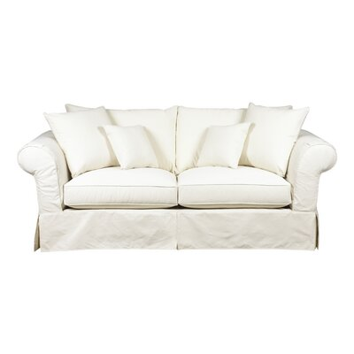 Heather Slipcover Sofa Upholstery: Pistachio