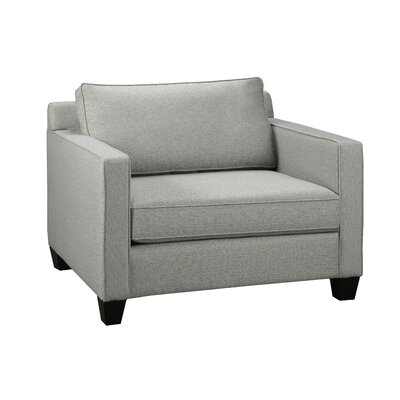 Gavin Arm Chair Upholstery: Zinc