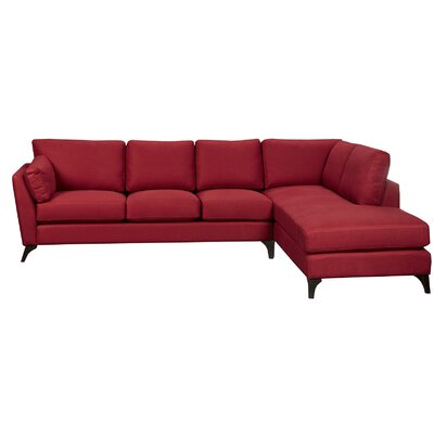 Lunetta Sectional Upholstery: Sterling