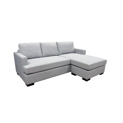 Rome Sectional Upholstery: Dove