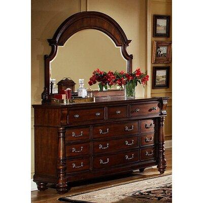 Bainbridge 12 Drawer Dresser with Mirror