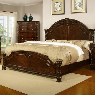 Patterson Panel Bed Size: King