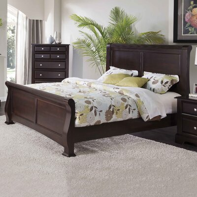 Council Sleigh Bed Size: Queen