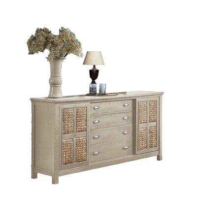 Pacifica 4 Drawer Standard Dresser