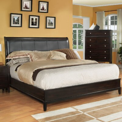 Newton Queen Upholstered Panel Bed Size: California King