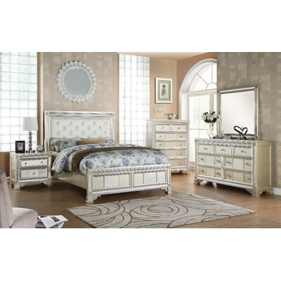 Tiffany Panel Customizable Bedroom Set