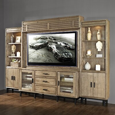 Blair Entertainment Center Color: Weathered Vellum