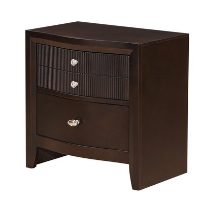 Bay Hill 3 Drawer Nightstand