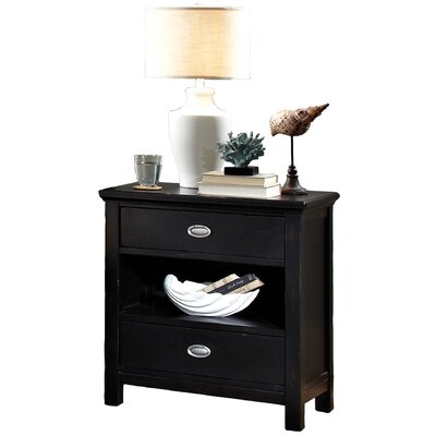 Pacifica 2 Drawer Nightstand