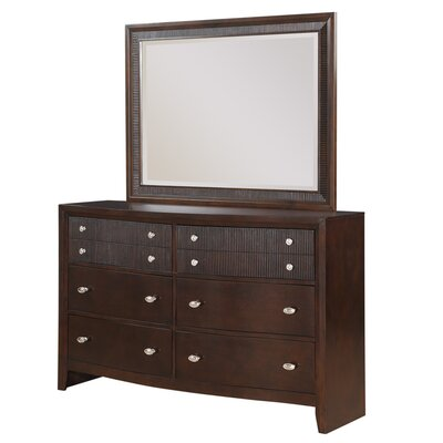 Bay Hill 8 Drawer Dresser with Mirror