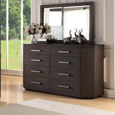 Chelsea Loft 8 Drawer Dresser with Mirror