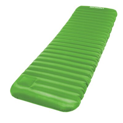 Roll and Go Inflatable Sleeping Pad 4 Air Mattress Color: Lime