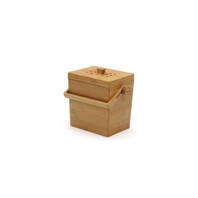 0.15 cu. ft. Bamboo Compost Pail