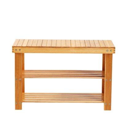 Bamboo 2 Tier Shoe Storage Bench HIDN1015 44366470