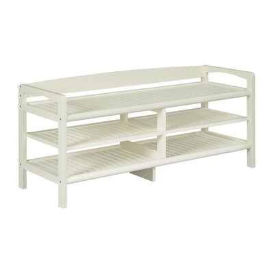 Mercier Multi-function 51 TV Stand Color: White