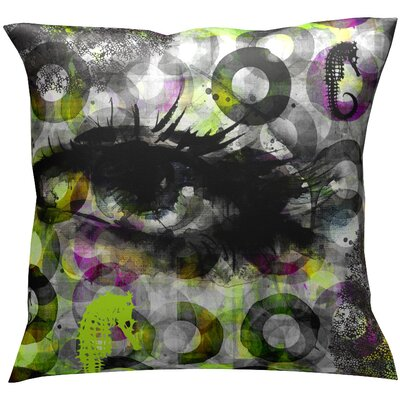 Eye Sea Throw Pillow
