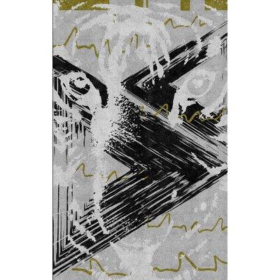 Vitality Hand-Tufted Teal Area Rug Rug Size: 5 x 8