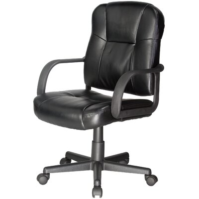 Relaxzen Leather Massage Chair Upholstery: Black
