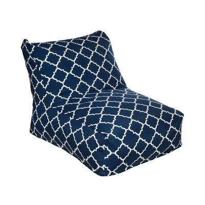 Bean Bag Lounger Color: Blue