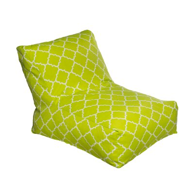 Bean Bag Lounger Color: Green