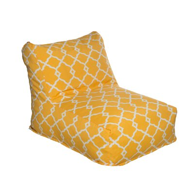 Bean Bag Lounger Color: Yellow
