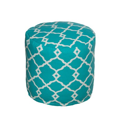 Bean Bag Pouf Color: Turquoise