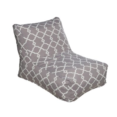Bean Bag Lounger Color: Gray