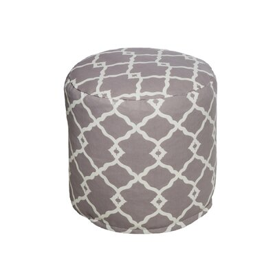 Bean Bag Pouf Color: Gray