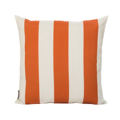 Cabana Throw Pillow Color: Orange