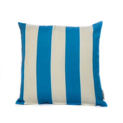 Cabana Throw Pillow Color: Blue