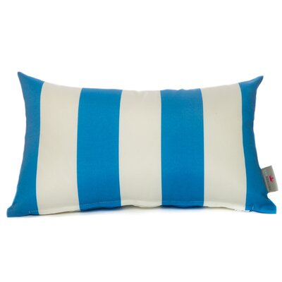 Cabana Lumbar Pillow Color: Blue