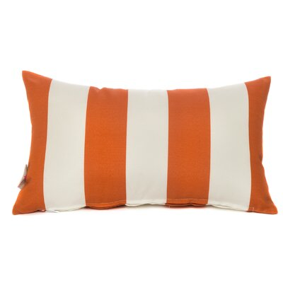 Cabana Lumbar Pillow Color: Orange