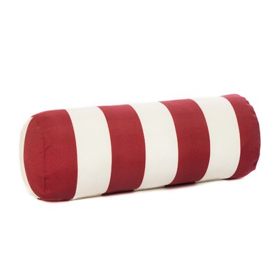 Bolster Pillow Color: Red