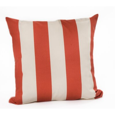 Outdoor Euro Pillow Color: Canyon/Off-White