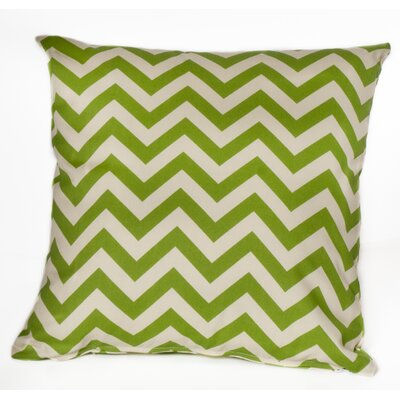 Outdoor Euro Pillow Color: Green
