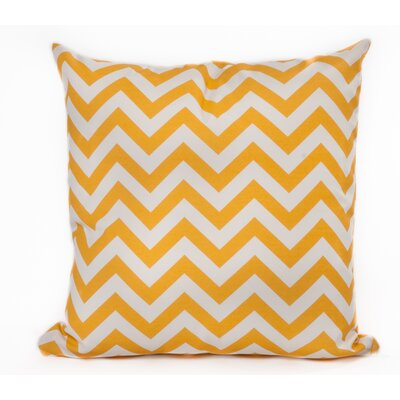 Outdoor Euro Pillow Color: Yellow
