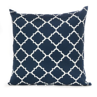 Outdoor Euro Pillow Color: Navy
