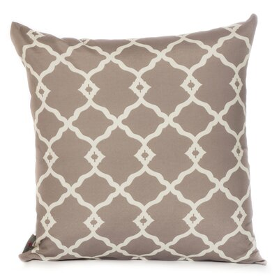 Outdoor Euro Pillow Color: Gray