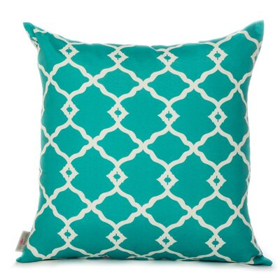 Outdoor Euro Pillow Color: Mint