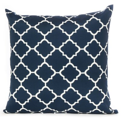 Outdoor Throw Pillow Color: Navy