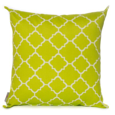 Outdoor Throw Pillow Color: Lime Green