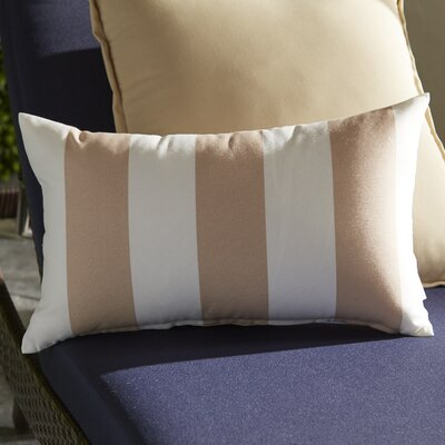 Mathias Lumbar Pillow Color: Beige
