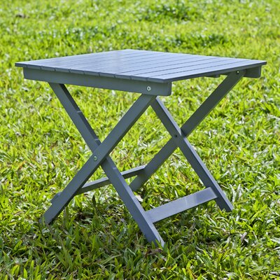 Square Side Table Finish: Gray