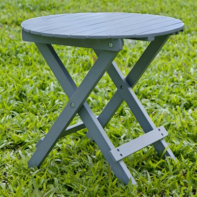 Round Side Table Finish: Gray
