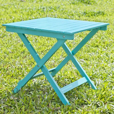 Square Side Table Finish: Turquoise