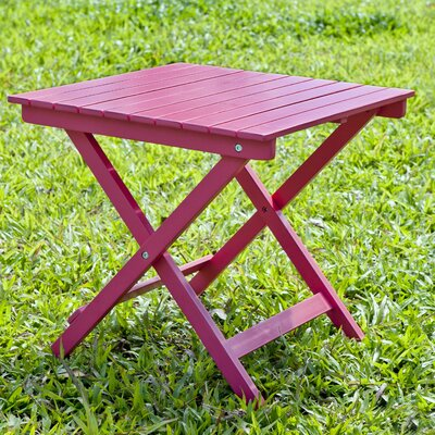 Square Side Table Finish: Pink