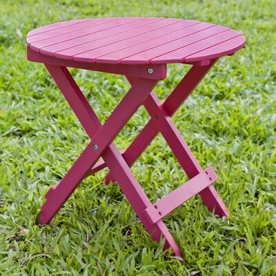 Round Side Table Finish: Pink