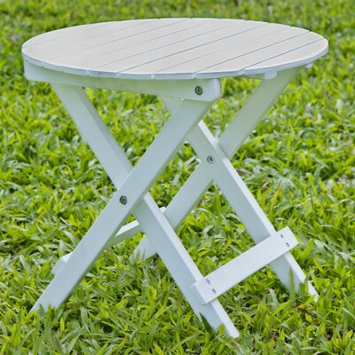 Round Side Table Finish: White