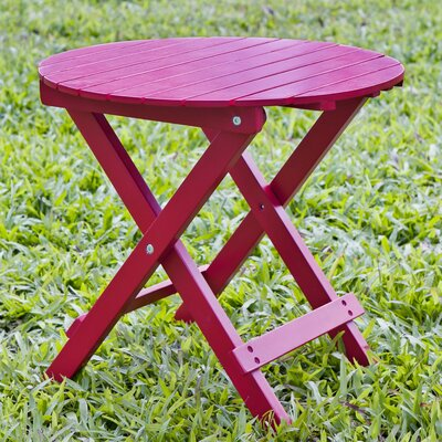 Round Side Table Finish: Red
