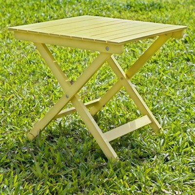 Square Side Table Finish: Yellow